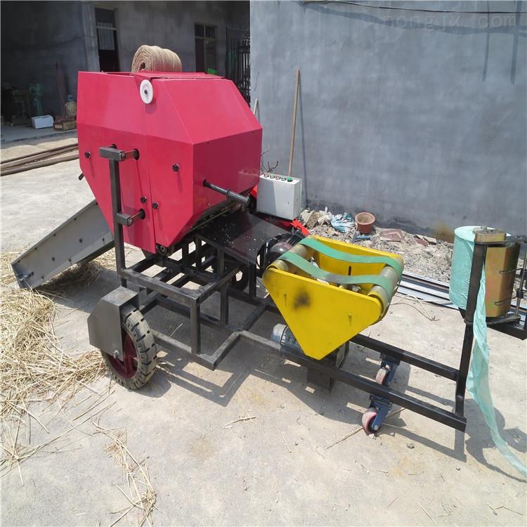 牧场青贮打包机 玉米秸秆打捆机 打捆包膜机