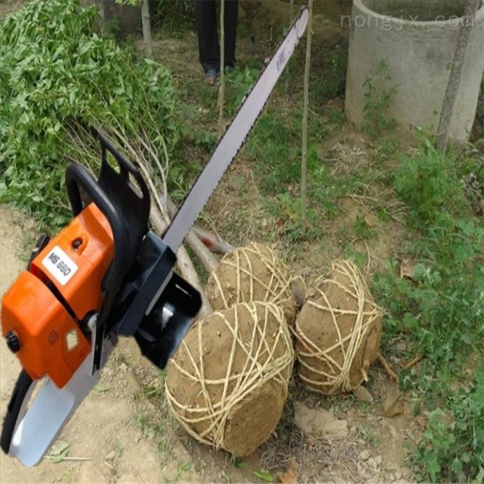 带土球挖树机 山区树木移栽机 断根起树机