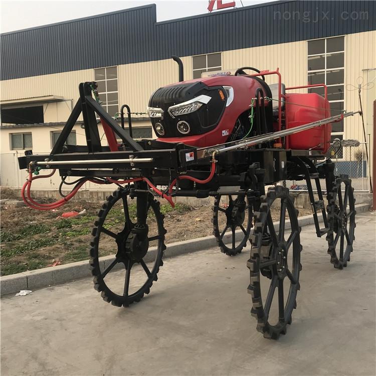 自走式打藥機 農用四輪噴桿式噴藥機廠家