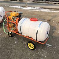 养殖场喷雾消毒机 大容量推车高压喷雾器