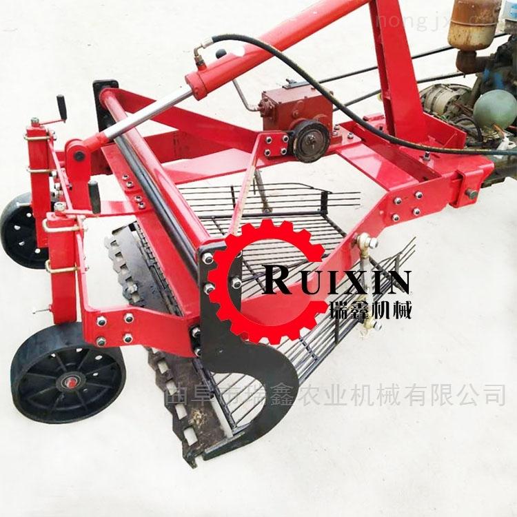 自动前置挖蒜起蒜机设备 地瓜土豆挖掘机