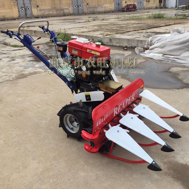 供应自走式高架玉米秸秆收割机