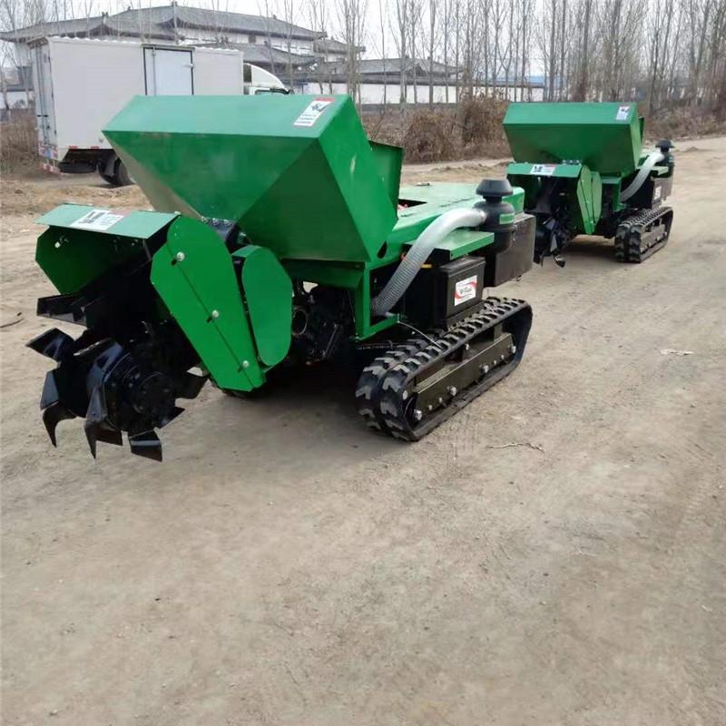履带果园农用开沟机 柴油动力施肥机价格