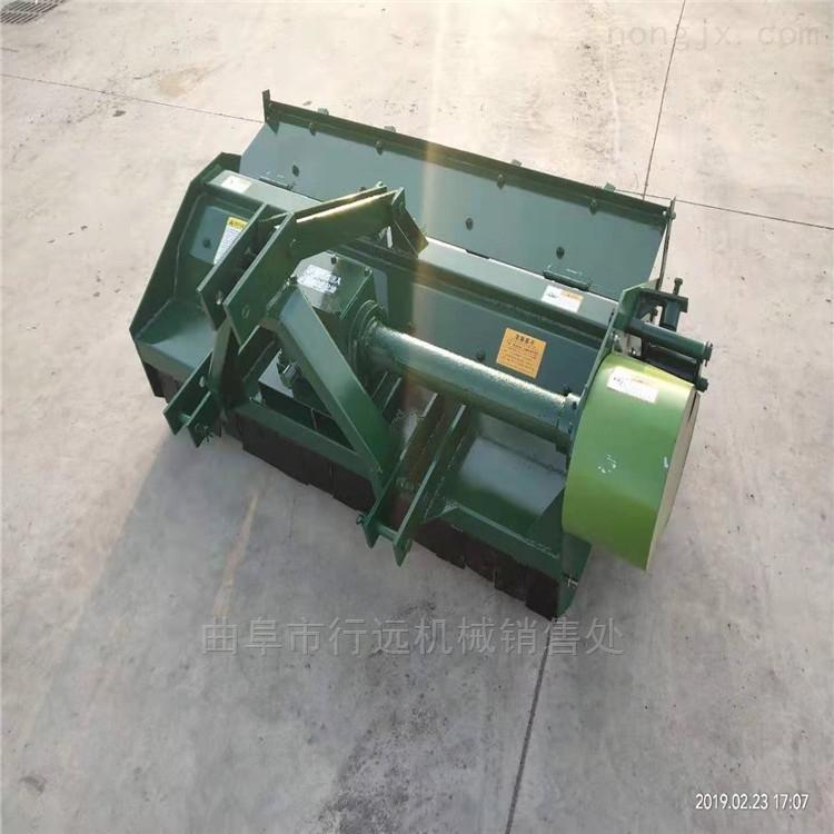 四轮拖拉机带抛洒型玉米秸秆粉碎还田机