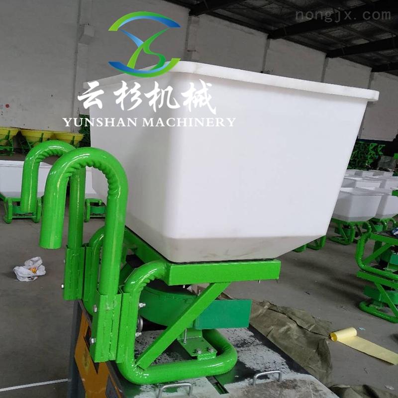 电动施肥器三轮车后挂施肥机拖拉机前置