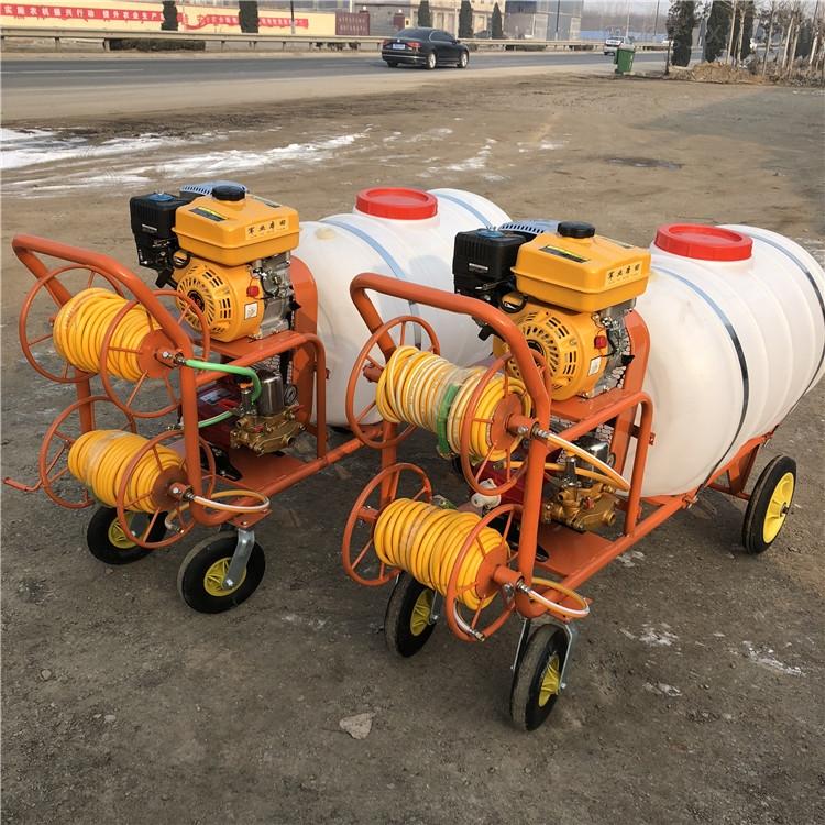 牛场消毒喷雾器 手拉管打药机 喷药高压水泵