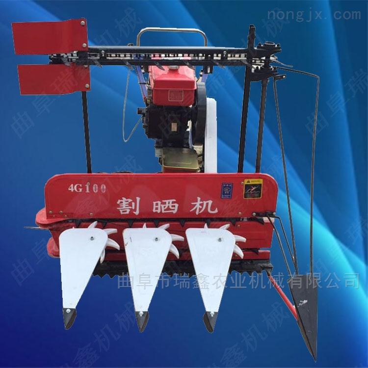 手扶芝麻油菜收割机 云南小麦水稻打捆机