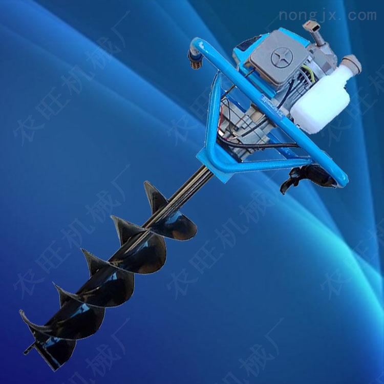 二冲程汽油地钻挖坑机 大马力地钻汽油机