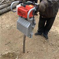 地面刨树机 汽油机动力挖树机 苗圃内起树机