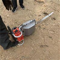 挖树机双手操作 起树断根机 移植果树刨树机