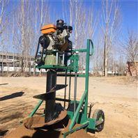 种树便携式挖坑机 多功能电线杆挖眼机参数