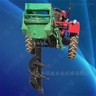 四轮拖拉机挖坑机