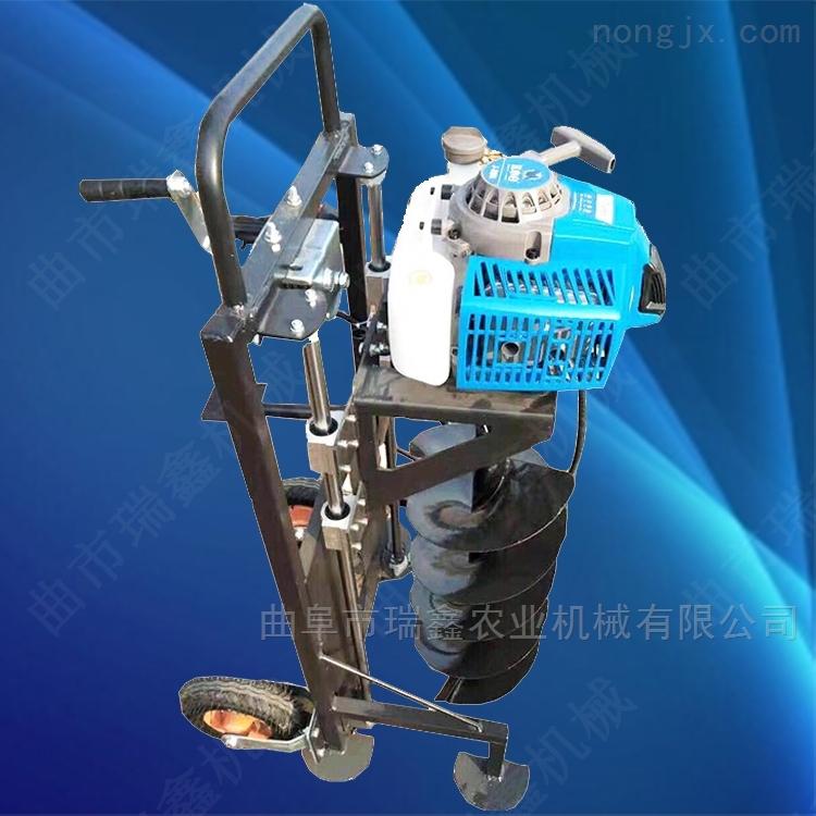 汽油植樹挖坑機 便攜手提式地鑽機