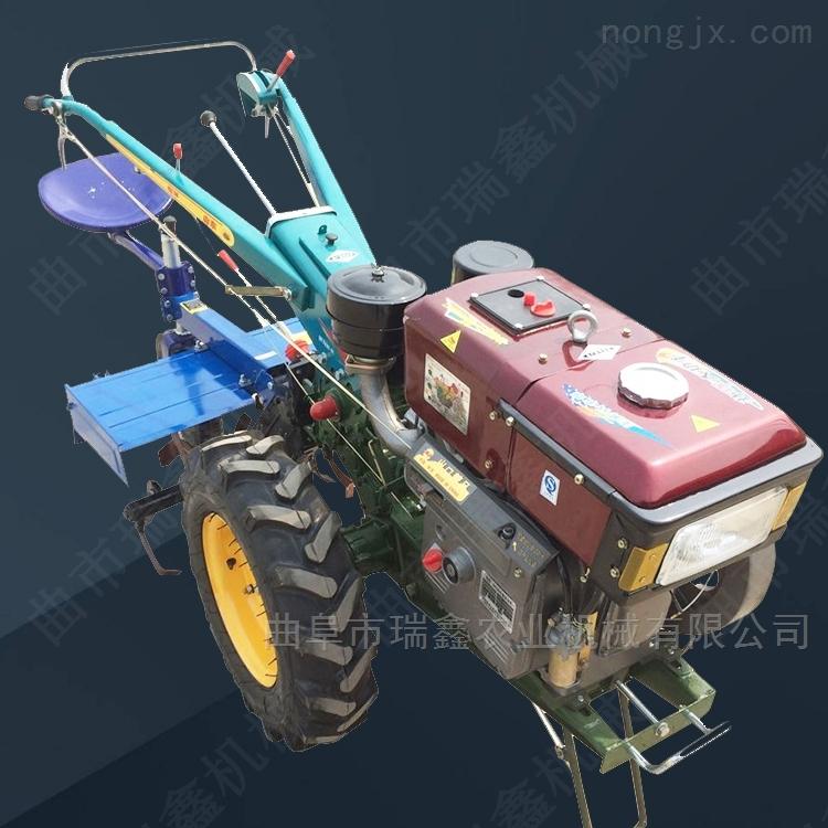 经济耐用12马力手扶拖拉机