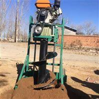 便携式汽油挖坑机 大马力钻坑机价格