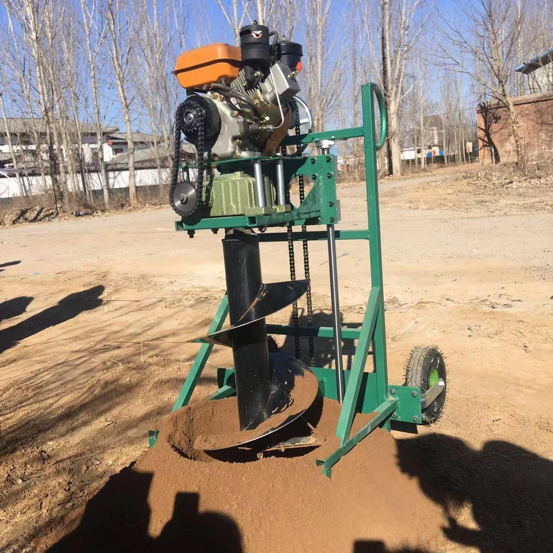多用植樹挖坑機 大直徑 大深度打洞機