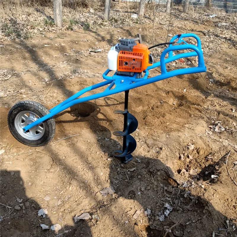 多功能植树挖坑机 小型园林种树打坑机型号