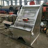 高效环保猪粪分离机 不锈钢斜筛泔水挤干机