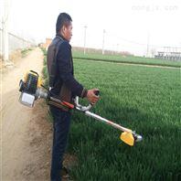 单人操作割草机 背负式打草机 汽油割灌机