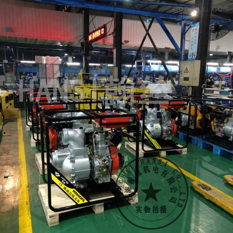 防汛型6寸柴油机水泵HS60DPE
