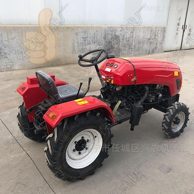 农用四轮旋耕机 多缸大马力拖拉机