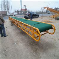 移动皮带运输机 电动升降传送带 输送机厂家