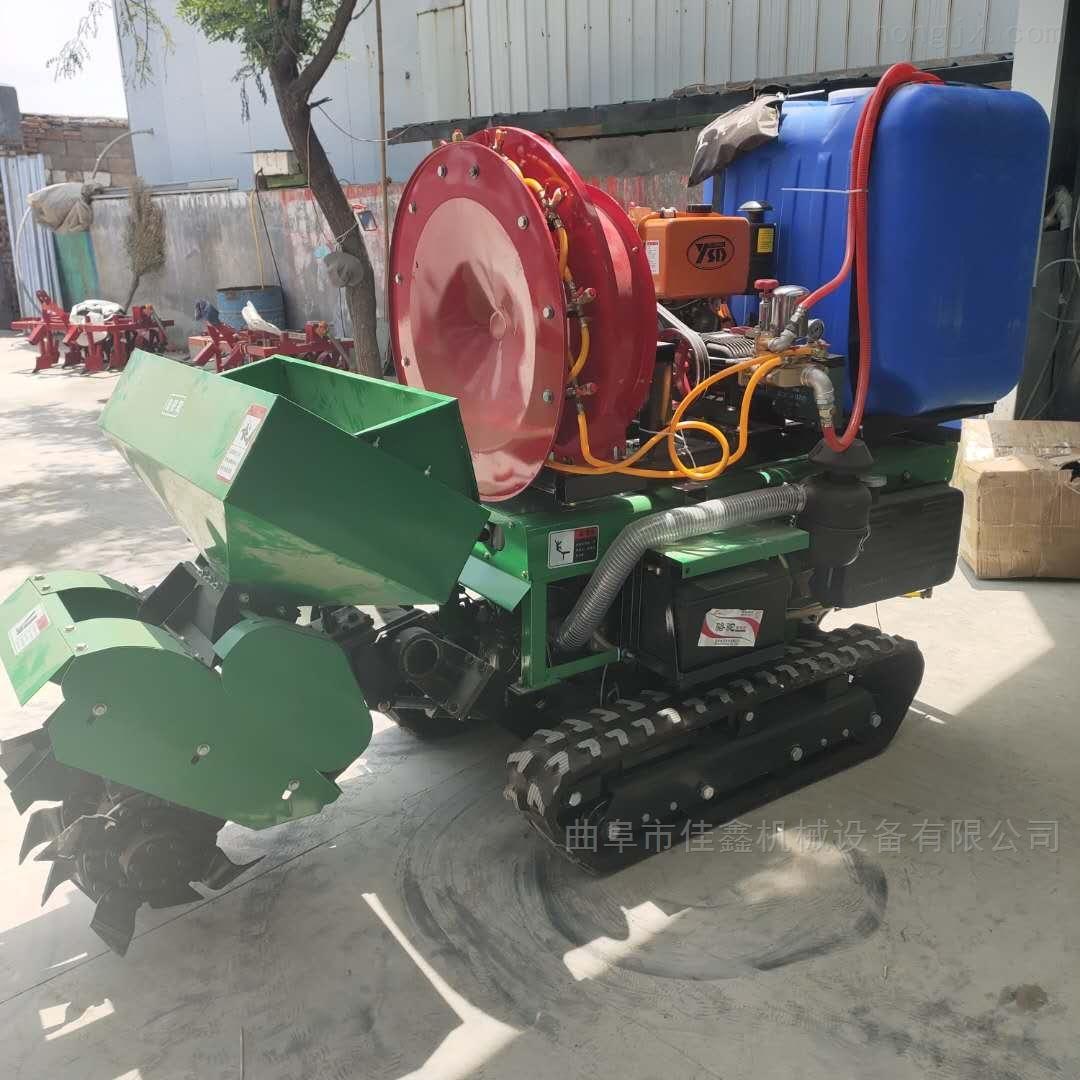 果園開溝施肥機 自走式柴油旋耕機廠家