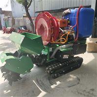 履带式多功能耕地机 节省人力旋耕施肥机