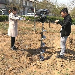rxjx-2手提式大棚果树施肥挖坑机