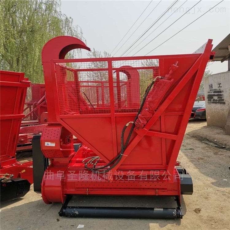 四轮牵引悬挂两用玉米秸秆回收机生产厂家