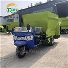 畜牧养殖饲料喂料车厂家 撒有机肥的撒料车