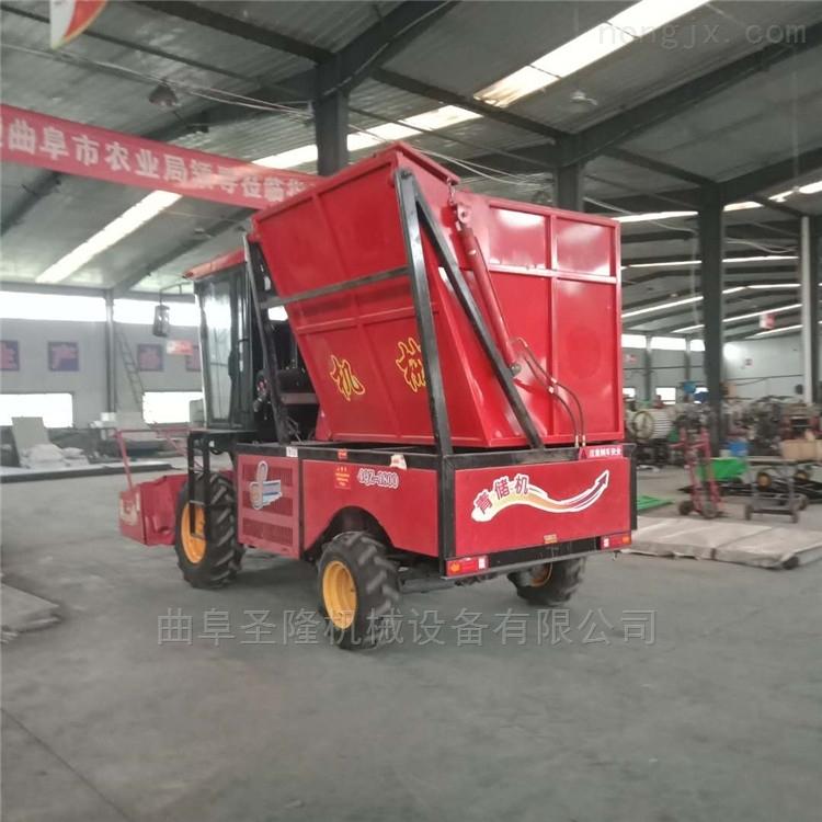 自走式青贮机玉米秸杆收割机厂家直销