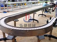 河南弘捷机器单列链板运送机