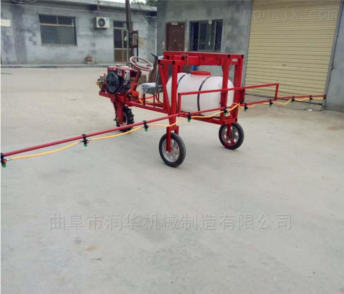 超强水压100米汽油喷雾器 农用自走式喷药机