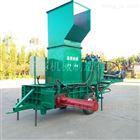 ZYW-160玉米秸秆青储压包机套袋青储饲草压块机