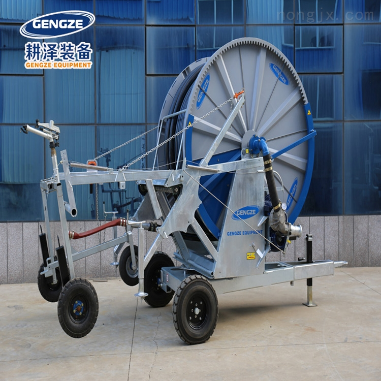 卷盘式喷灌机圆形绞盘式浇地农田灌溉设备