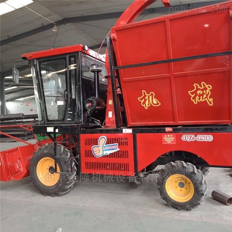 圣隆機械四輪驅動大型青貯機生產廠家