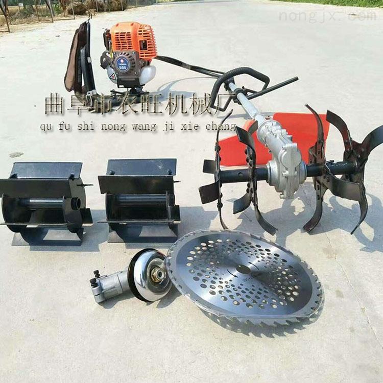 四冲程背负式割灌机 多功能家用汽油除草松土机