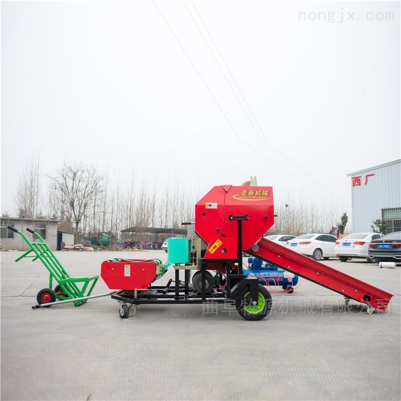 玉米秸秆青储打包机厂家