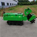 多功能开沟培土机 自走式开沟施肥回填机