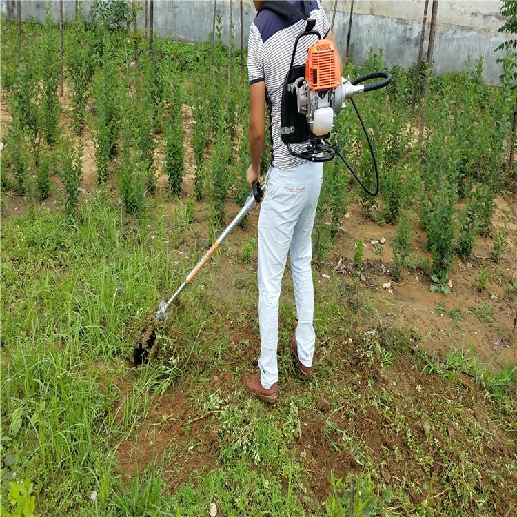 斜跨式除草机 小型微耕机 快速除草旋耕机