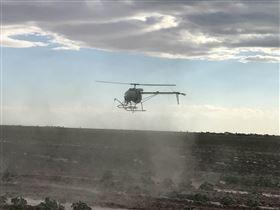 汉和新科技农药喷洒无人直升机植保无人机