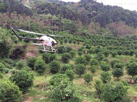 新型农业设备无人直升机