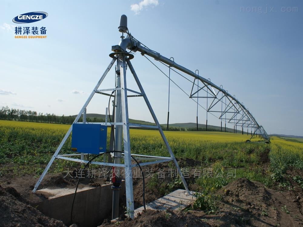 中心支軸時針式噴灌機自走移動大田噴灌設備