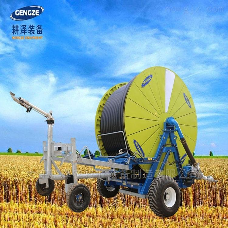超大型卷盘式喷灌机水涡轮绞盘式灌溉设备