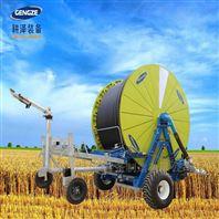 超大型卷盤式噴灌機水渦輪絞盤式灌溉設備