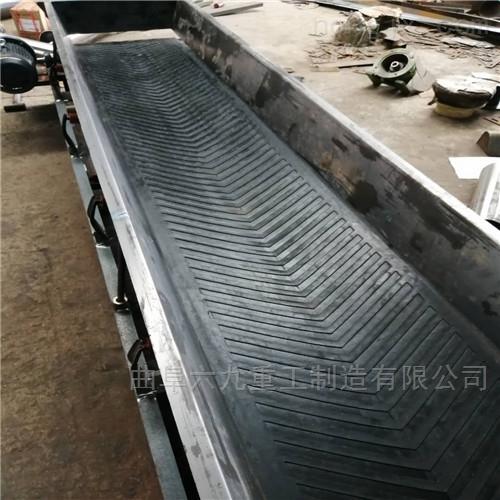 工业渣料带式输送机  污泥用皮带运输机
