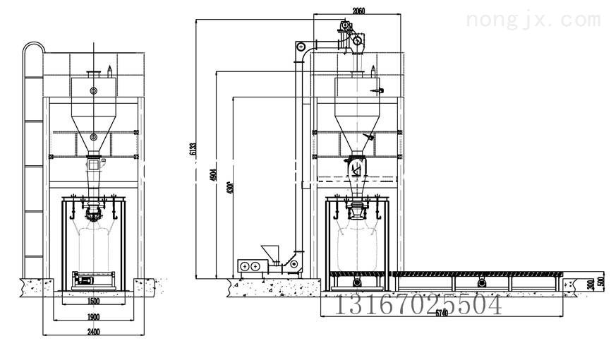 GZM-1000S-吨袋颗粒粉剂称重包装机