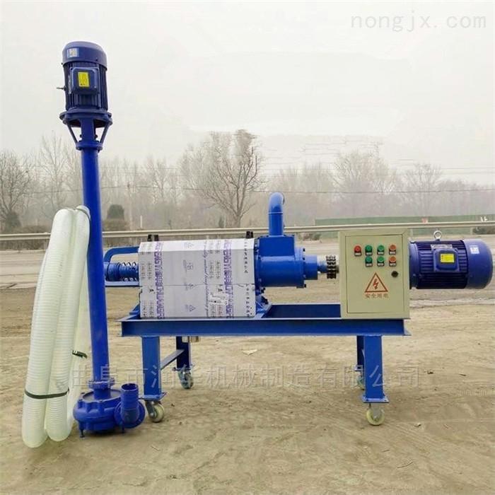 RF-FLJ-280-餐厨垃圾干湿分离机 猪粪牛粪处理挤干机