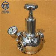 衛生級不銹鋼蒸汽快裝減壓閥